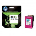 Cartuchos HP 301XL Color  (475 pag) Original (CH564EE)