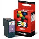 Cartucho de tinta color original Lexmark Nº33 (C-18C0033)