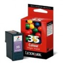 Cartucho de tinta color original Lexmark Nº35 (C-18C0035)