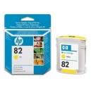 Cartucho original HP 82 Amarillo 69 ml (C4913A)