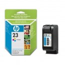Cartucho original HP 23 Color 42 ml (C1823D)