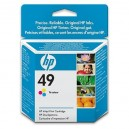 Cartucho original HP 49 Color 22 ml (51649A)