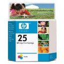 Cartucho original HP 25 Negro 22 ml (51625A)