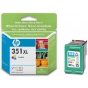 Cartucho original HP 351XL Color 18ml (CB338E)